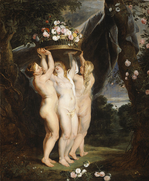 workshop of Peter Paul Rubens - The Three Graces