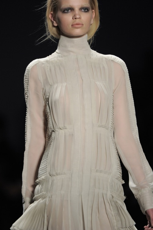 The girl is perfection I tell you. Daph at Vera Wang A/W 2011.
