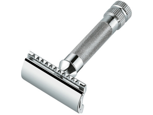 putthison:  The Merkur HD Since we published our episode on grooming earlier this week, a lot of folks have been emailing asking about equipment for the basic wet shave. I'm not a shaving nerd myself, but I did a lot of research at places like Badger & Blade when I started wet shaving and in preparation for the episode. The one item that was almost universally recommended was the Merkur HD. There are many safety razors available, and even more available vintage. Some are more aggressive, some less aggressive, some adjustable, some cheap, some expensive. The one that was suitable for beginners but still recommended by the hardcore was and is the Merkur. It costs about $45, is built like a tank, and is a great first step on the road to a new shaving lifestyle.