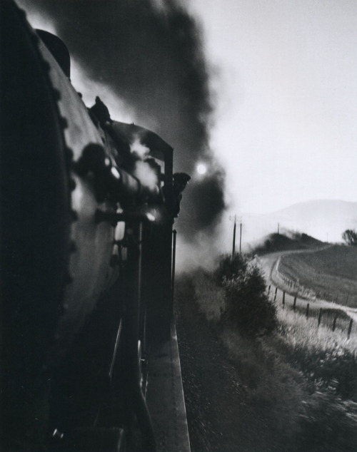 Wolfgang Suschitzky Steam Locomotive Scotland, 1943 From Wolf Suschitzky: Photos Thanks to liquidnight