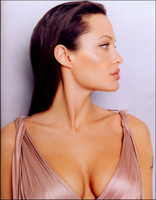 suicideblonde:  Angelina Jolie photographed by Lorenzo Aguis, 2003