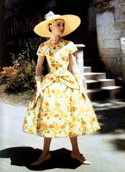 theniftyfifties:  Audrey Hepburn in 'Funny Face', 1957.