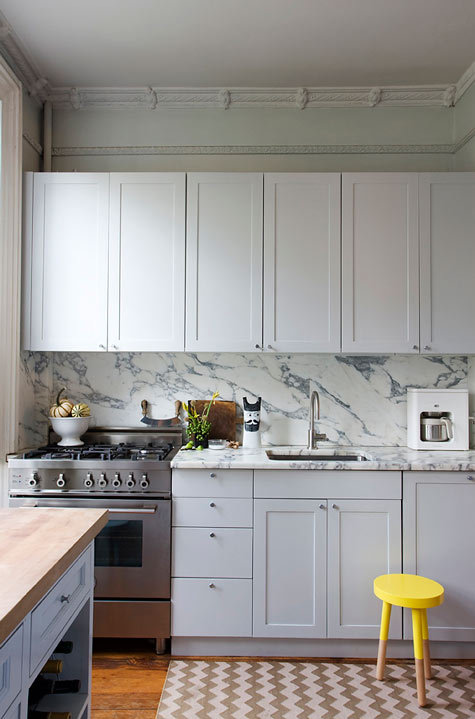 Marble for my kitchen is my greatest wish, threat of stains be damned!