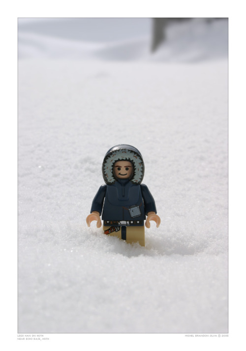 Lego Han on Hoth  - by Michel Brandon Silva  Via:(itlego)
