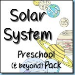 1+1+1=1: Solar System Preschool {& Beyond} Pack