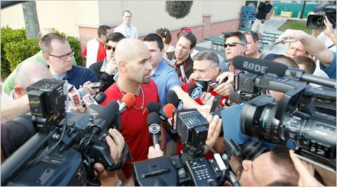 Mr. Pujols Goes to Washington?  But don't be surprised to see the Washington Nationals become very aggressive if Pujols becomes a free agent. - NYTimes