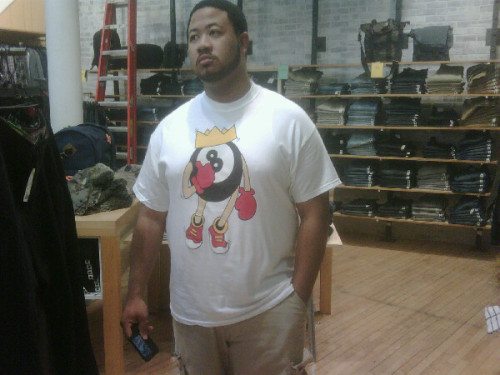 illsays:  The homie Cae @caessochi708 rocking the *NEW* Herbs & Spices 'King Trump' Tee. Check out Herbs & Spices Crew at www.teamherban.tumblr.com