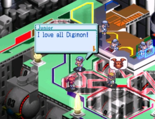 remains-of-summer:  Waaah I'm playing Digimon World 3. Yeah OMG I can't believe it! I started playing in 2004, when I was 9 years old, but the disc I got was faulty, you couldn't see anything once you went underwater. Now starting to play again. It's so nostalgic! <33333