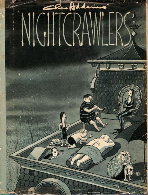 Nightcrawlers by Charles Addams published 1957