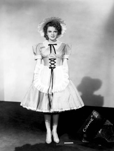 Judy Garland wardrobe test