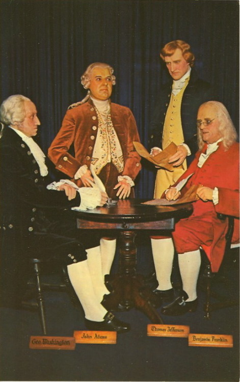 The only way to recognize Presidents Day is with a bad wax museum picture. And yes, I know…Benjamin Franklin was never President. But some people think he was. So whatever.