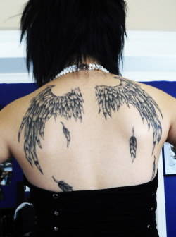 My wings tattoo ~
