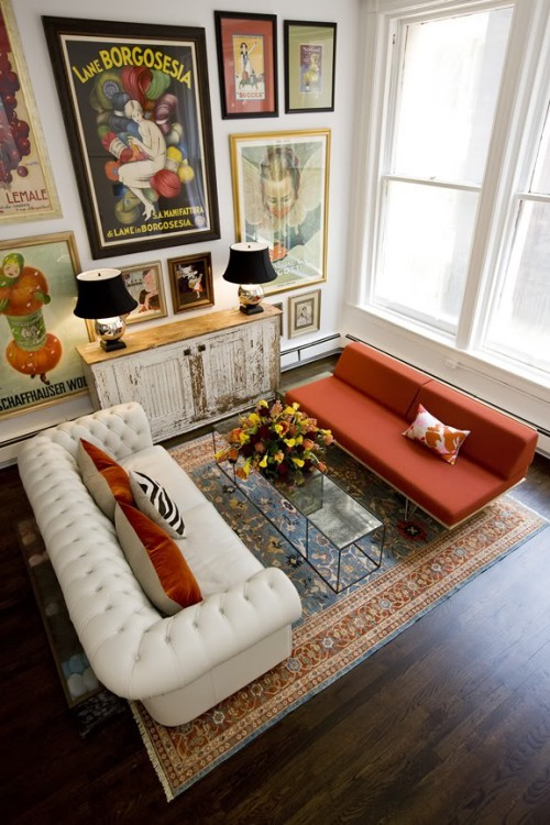 ysvoice:  | ♕ |  Vintage Marries Mod - Amy Dragoo's Manhattan Home  by houzz.com | via goheancrazy