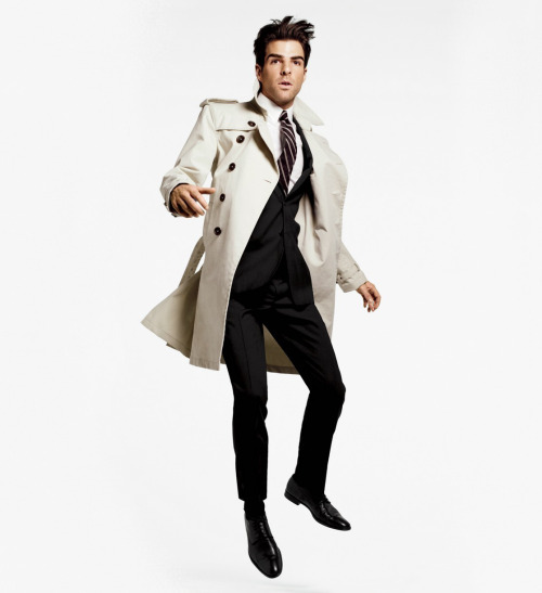 Zachary Quinto for GQ