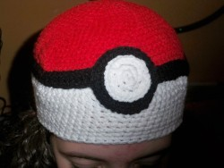 Pokeball Hat, by Megan Gray