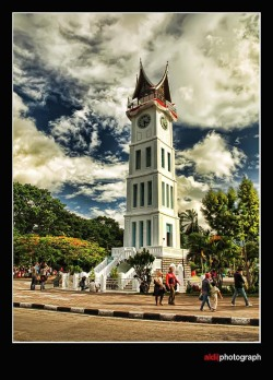 """Jam Gadang"" - Indonesia's BIG BEN, Bukittinggi 