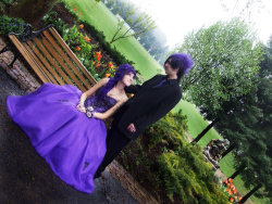 Another photo of Shaun and I before senior prom. <3