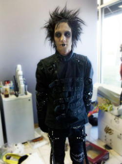 Shaun as Edward Scissorhands.  >:D