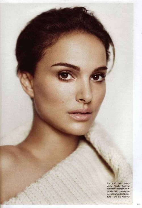 bohemea: Natalie Portman - Vogue Germany, February 2011