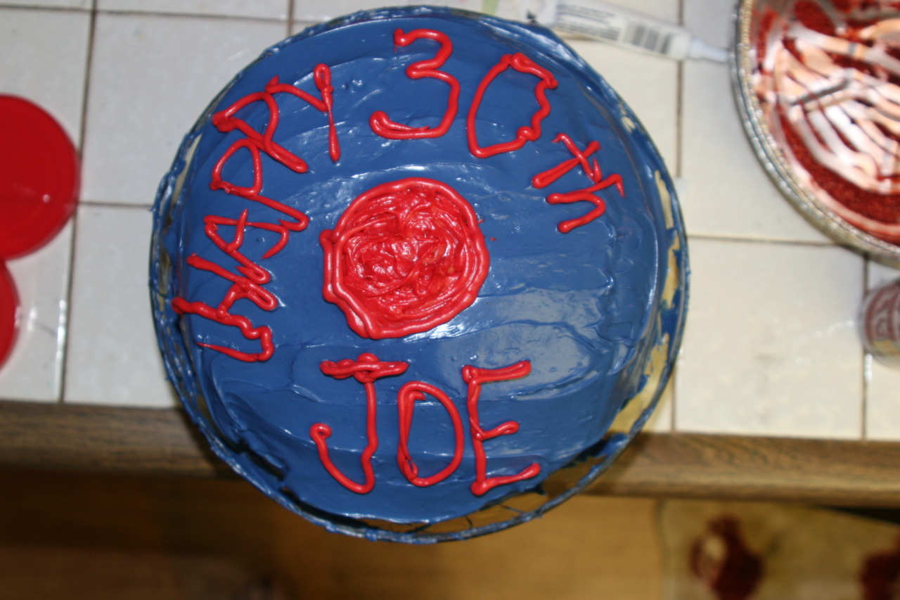 Before the day is done, Happy 30th JOE!