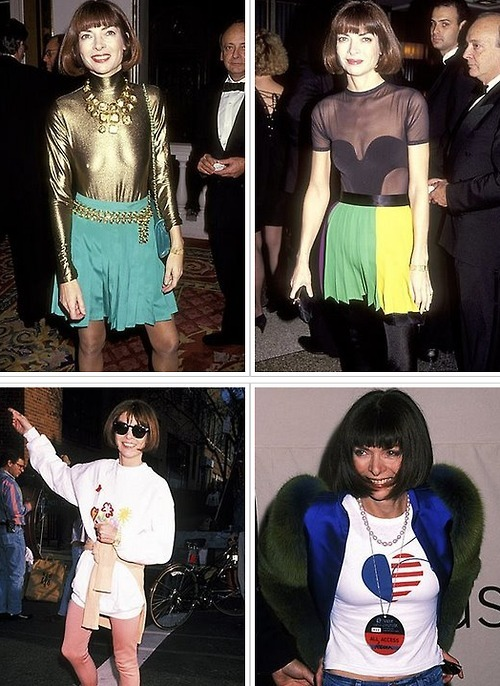 Anna Wintour in the 90's