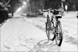 [daily dose of imagery] snow bike