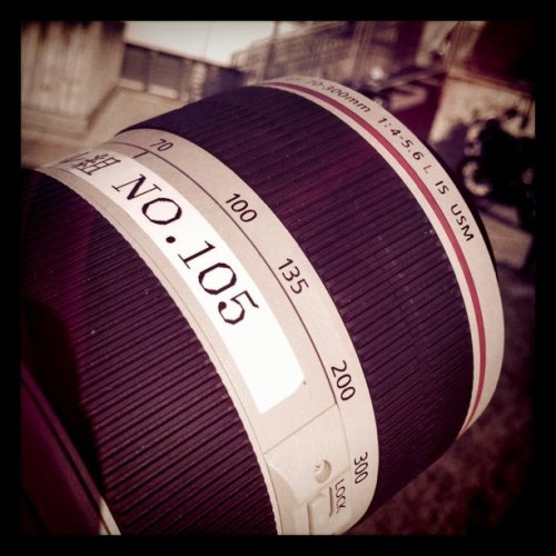 70-300 (Taken with Instagram at Canon Italia)
