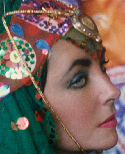 Elizabeth Taylor's 1976 trip to Iran, as photographed by Firooz Zahedi—the story of her travels and the photos are here.