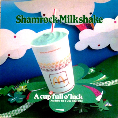 Shamrock Shake Courtesy of Jemgirl86