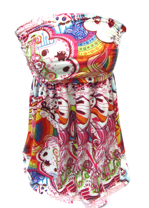 "acrylicana:  ""Welcome to the Disco (Sugar Love)"" summer dress. Acrylicana™  Collection Coming Soon.  I sooo want this dress! <3"