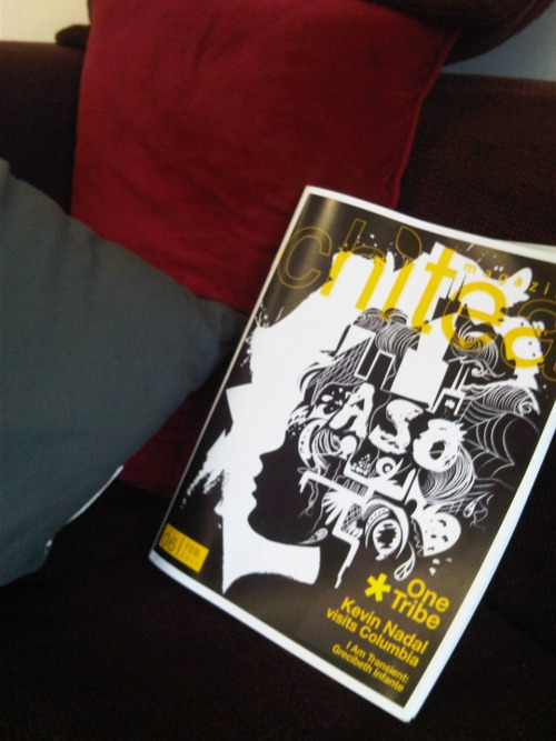 The new Chi-Tea Magazine is out! Pick one (or more!) up at the 618 S. Michigan Building on the 4th floor! DON'T SLACK!
