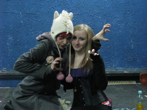 Me with one of the best, Emilie Autumn