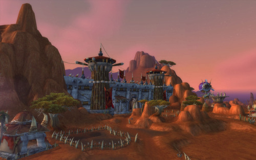 Orgrimmar before the Cataclysm.  I'm not playing WoW anymore, but it's still weird to think about that Org being completely different.