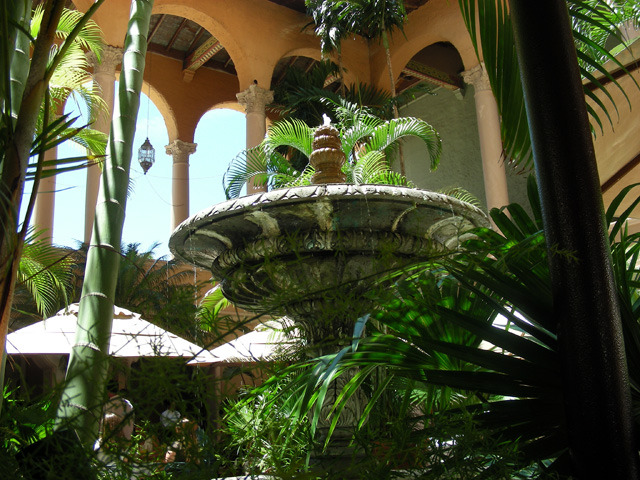 Fountain at the Biltmore Hotel Miami