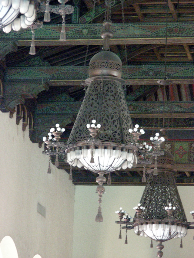 Copper Lanterns at the Biltmore Hotel, Miami