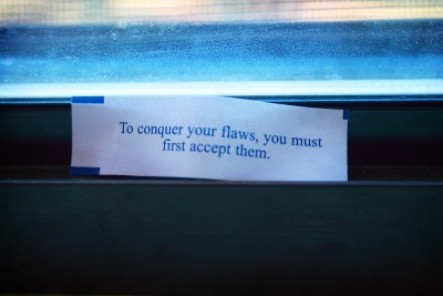 stophatingyourbody:  I got this fortune in a fortune cookie last night and I think there's some truth to it. I thought I'd share it with you all. :)  BE BRAVE! JOIN THE REVOLUTION!