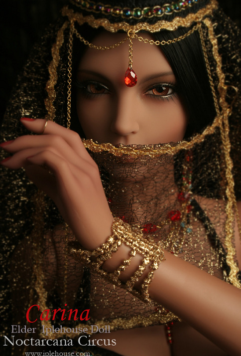 Iplehouse: Noctarcana Circus, Carina Hehe, more BJDs for today. Please bear with me. :)