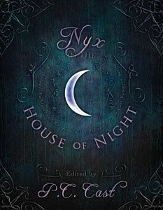Nyx in the House of Night  Edited by P.C. Cast, Nyx in the House of Night—a 2-color illustrated guide to the House of Night series—brings these rich mythological influences to life, providing the real-world stories behind the series and insight into the way those stories are used to create the captivating story of Zoey and the House of Night.  This book will be released in June. To read more click here.