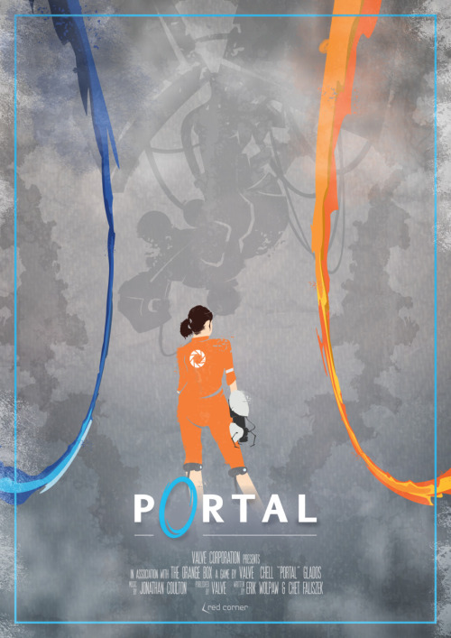 PORTAL - Game/Movie poster