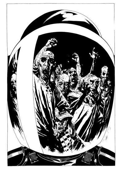 Charlie Adlard, The Walking Dead