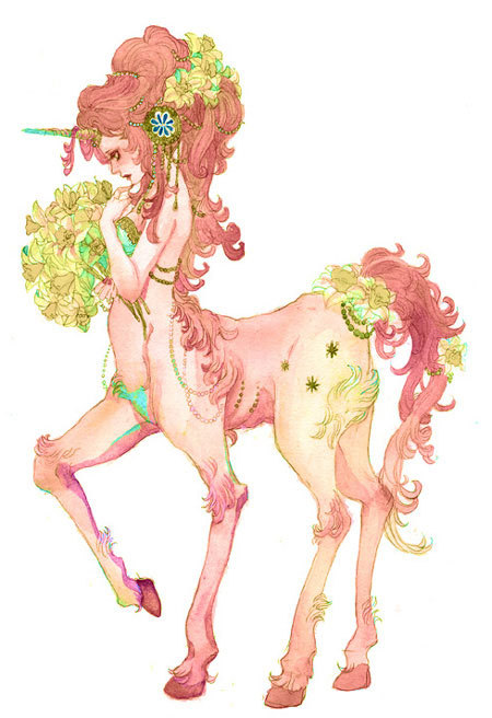 celestialarrows:  Female Centaur