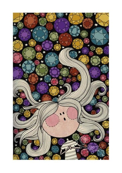 """Lucy In The Sky With Diamonds"" Print by gemagenta"