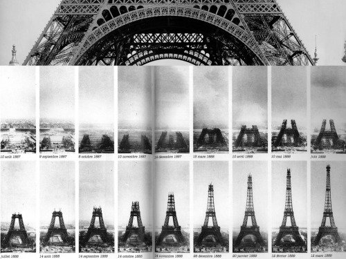 The Construction of the Eiffel Tower, Paris