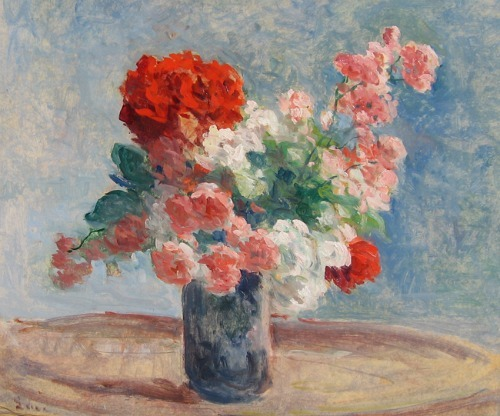 Maximilien Luce Vase of Flowers Late 19th century