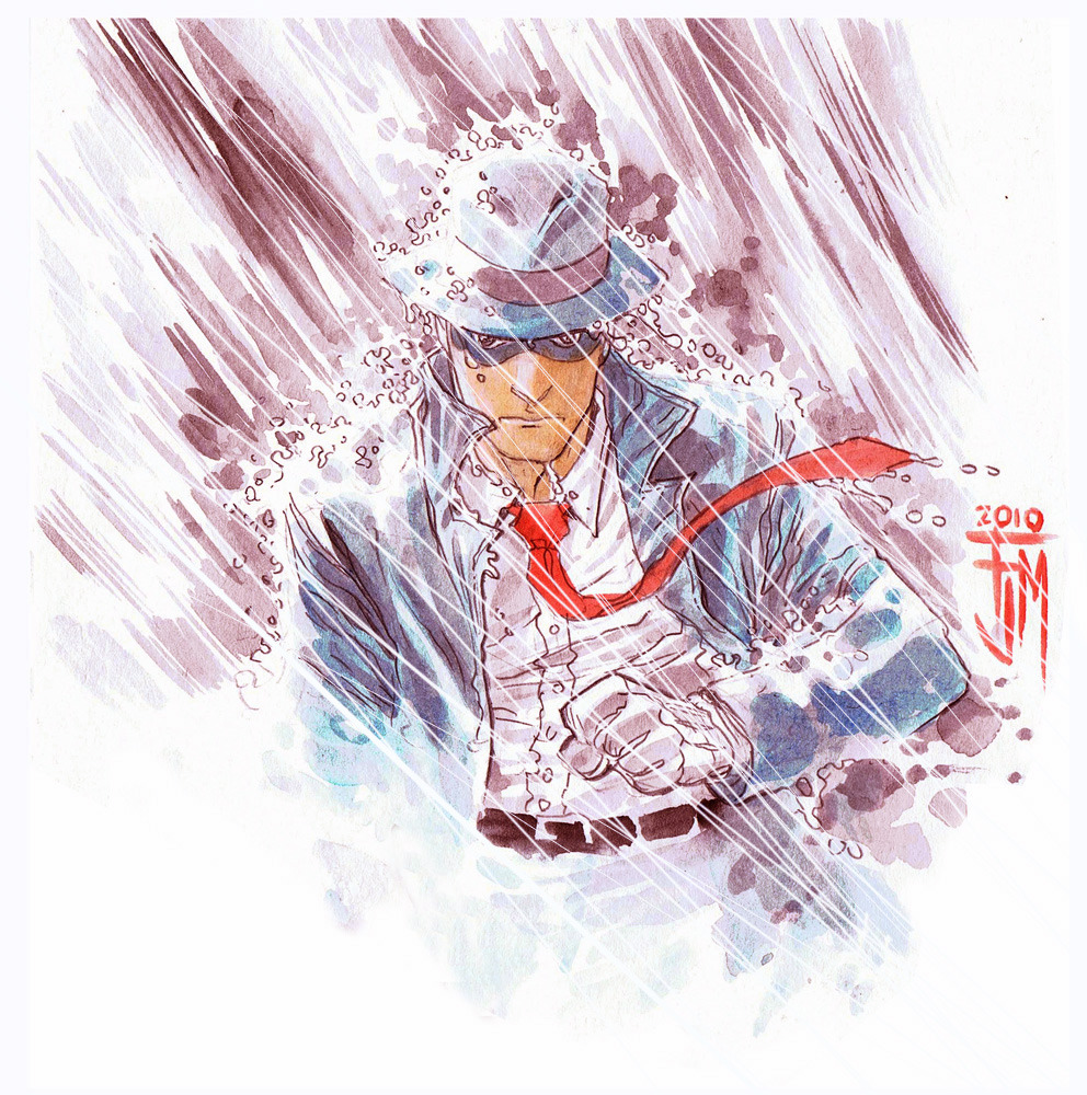 The Spirit in the Rain, Francis Manapul