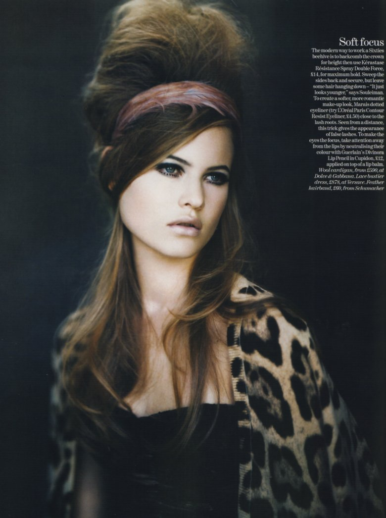 Behati Prinsloo photographed by Paolo Roversi - Vogue UK: September 2005 - Belle de Nuit