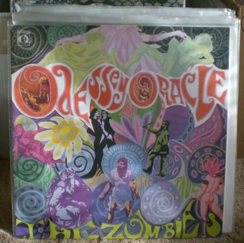 "The Zombies ""Odyssey and Oracle"" (found a bunch of pictures of record covers from my collection i took awhile back…and here they are)"