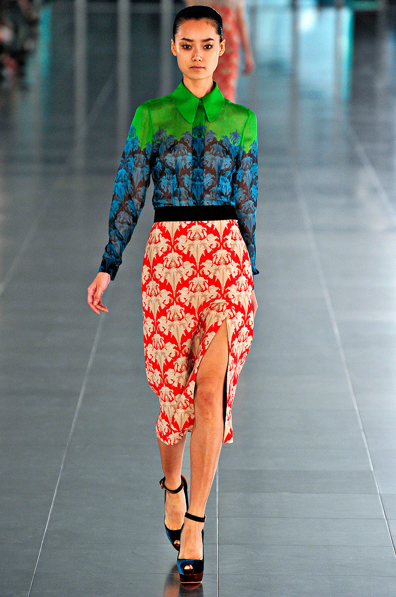 vogue:  Jonathan Saunders Fall 2011 Photo: Marcio Madeira/firstVIEWVisit Vogue.com for the full collection and review.