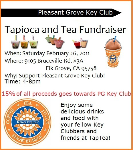 kjle:  This Saturday from 4-8pm! Come and support Pleasant Grove Key Club :D