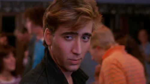 "Nicolas Cage in ""Valley Girl"""